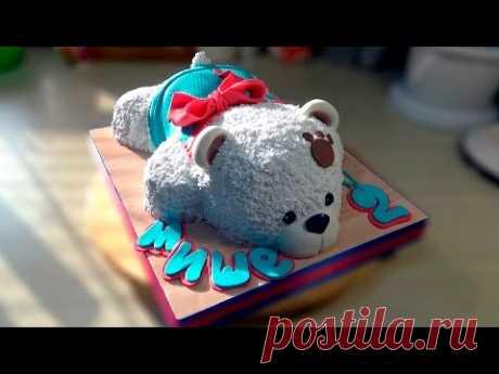 "3D Bear cake \/ 3D cake \""Bear\"" - I am Tortodel!"
