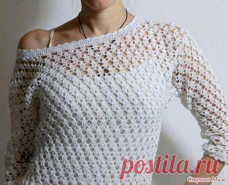 Ажурный пуловер / Любимая Азия