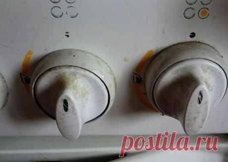 Как почистить ручки у газовой плиты: 8 рецептов быстро отмыть от жира