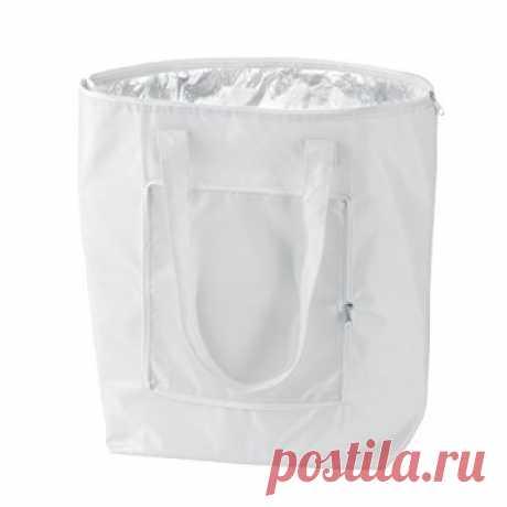 Amazon.com: большой холодный мешок, который складывается для удобной переноски! Складной мешок охладителя (Белый): кухня & столовая