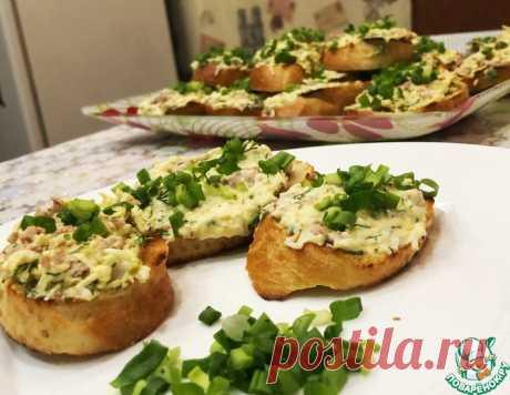 Закусочные бутерброды – кулинарный рецепт