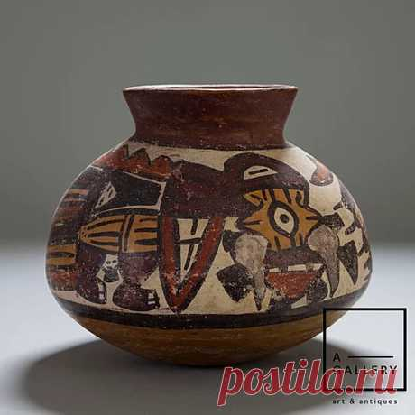Сосуд, Наcка (300-500 гг. н.э.)