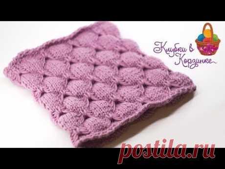 Вязание спицами. Мастер класс. Снуд для девочки. Вязание. #KVK