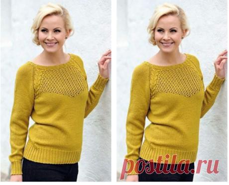 Элегантный свитер реглан снизу - создаем образ для прогулок и свидания