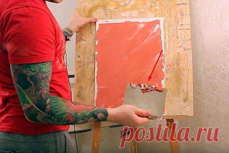 Покраска стен под венецианскую штукатурку: как сделать имитацию с эффектом венецианки из обычной краски своими руками