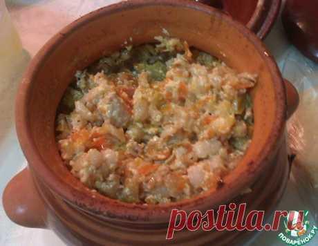 Перловая каша с мясом в горшочках – кулинарный рецепт