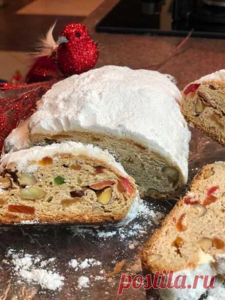 Знаменитый немецкий кекс «Штоллен» — не просто культовое блюдо, а поразительно вкусное и уникальное блюдо - Ваши любимые рецепты - медиаплатформа МирТесен