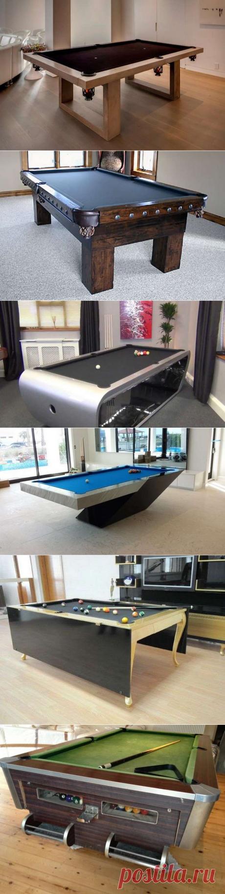 Бильярдный стол из конструктора Кнекс