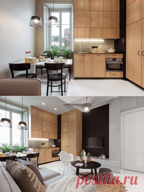 Стильная арендная квартира в Нанте (40 кв. м) - Дизайн интерьеров | Идеи вашего дома | Lodgers