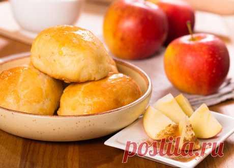 Пирожки из теста на кефире с яблочной начинкой   По Секрету Всему Свету   Яндекс Дзен