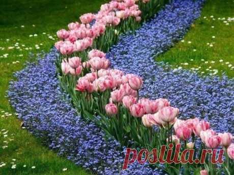 Цветочные ручейки
