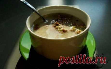 Овощной суп с яйцом и гречкой | Женское кредо
