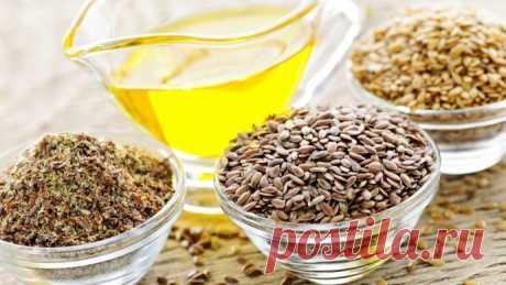 Польза льняных семян
