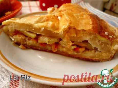 Пирог рыбный - кулинарный рецепт