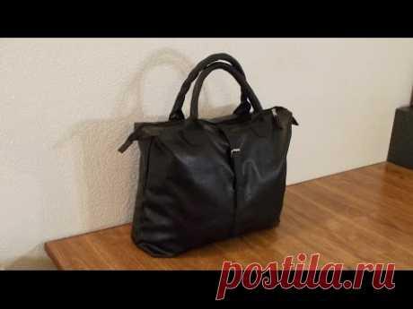 Дорожная сумка своими руками.  Полуплоская. DIY Travel bag
