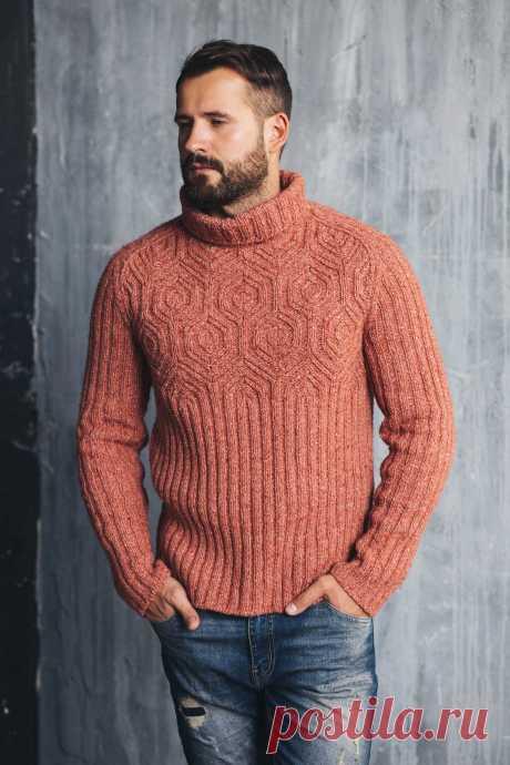 Ravelry: Hexagon sweater pattern by Andrey Zhilyaev