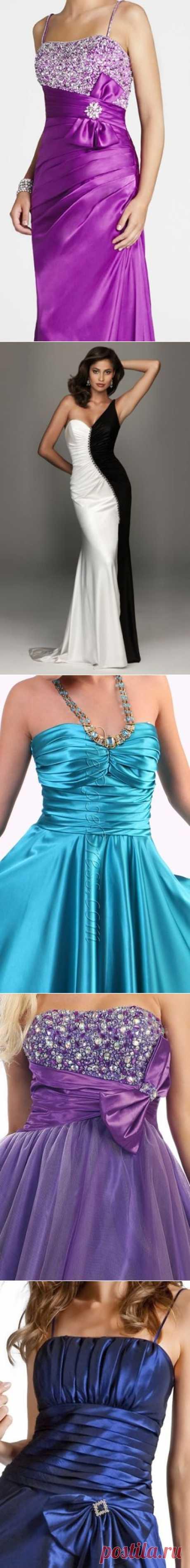 ВЕЧЕРНИЕ платья -  20 роскошных  моделей ! Любая женщина в правильном платье превращается в сказочную принцессу или обольстительную соблазнительницу !.. К выбору вечернего платья нужно подойти серьёзно, как к наряду для невесты !