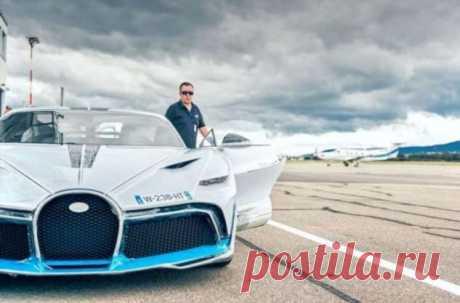 Bugatti тестируют новую модель за 5 миллионов евро перед отгрузкой (12 . Тут забавно !!!