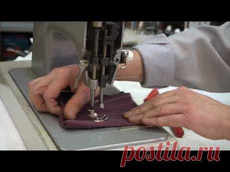 Как отрегулировать положение лапки на швейной машине Чайка?