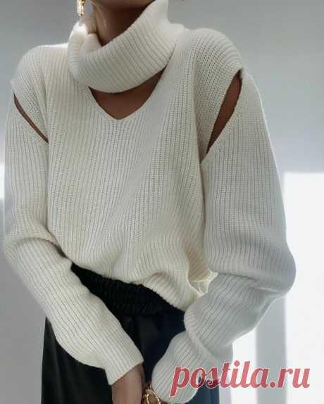 Модный свитер 2021: трендовые модели, новинки и 15 фото | Идеи стильных людей ✮ | Яндекс Дзен