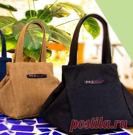Джинсовая сумка интересной формы (Шитье и крой) – Журнал Вдохновение Рукодельницы