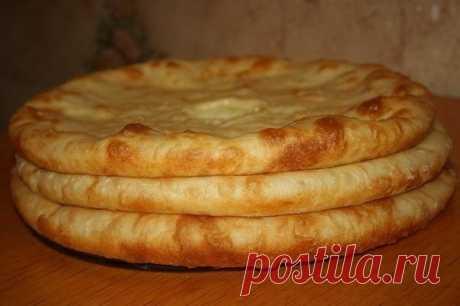 Осетинские пироги с мясом, с картошкой и сулугуни | Школа вкуса - вкусные кулинарные рецепты