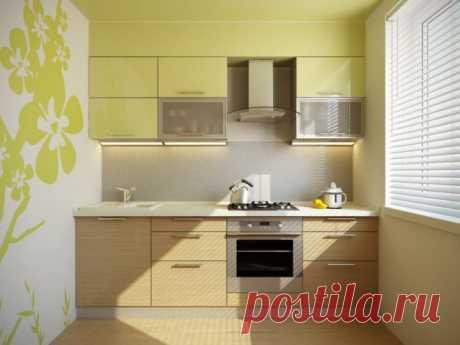 Комбинированные обои для кухни: дизайн на фото