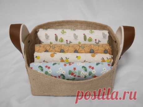 Storage Fabric Box Tutorial ~ DIY Tutorial Ideas!