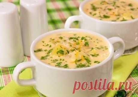 Самый вкусный в мире суп — Нежнейший Сырный суп - Вкусные рецепты - медиаплатформа МирТесен