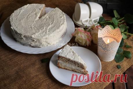 Ореховый бисквит   Рецепты от Izuminka.net   Яндекс Дзен
