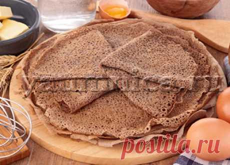 Рецепт блинов из гречки - Пошаговые рецепты с фото