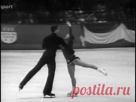 12 6.0!!! Irina Rodnina - Alexander Zaitsev Euro 1973 FP. 12!!! 6,0 - Ирина Роднина-Александр Зайцев