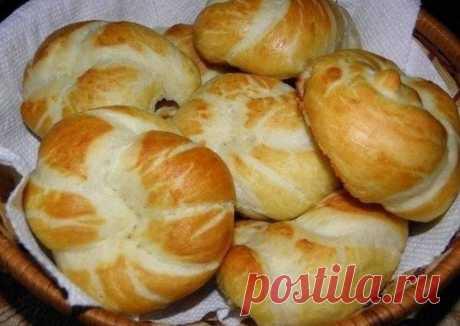 Немецкие булочки с секретом - пошаговый рецепт с фото. Автор рецепта юлия . - Cookpad