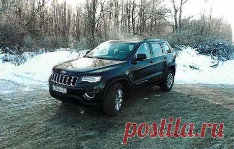 Jeep Grand Cherokee: дембель – Тест-драйвы – Autoutro.ru