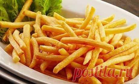 Картошка фри в духовке.