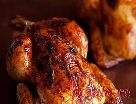 Курица, запеченная в хрустящей корочке, с имбирем и апельсинами, пошаговый рецепт с фотографиями – испанская кухня: основные блюда. «Еда»