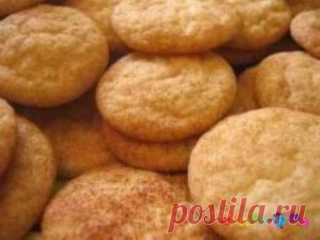 Песочное печенье на майонезе и без яиц