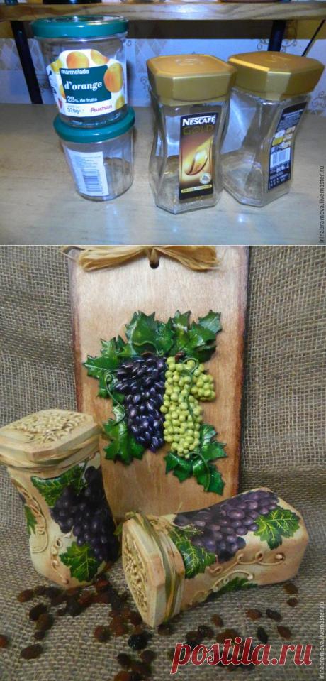 «Когда б вы знали из какого сора, или Презенты впрок»: декорируем баночки - Ярмарка Мастеров - ручная работа, handmade