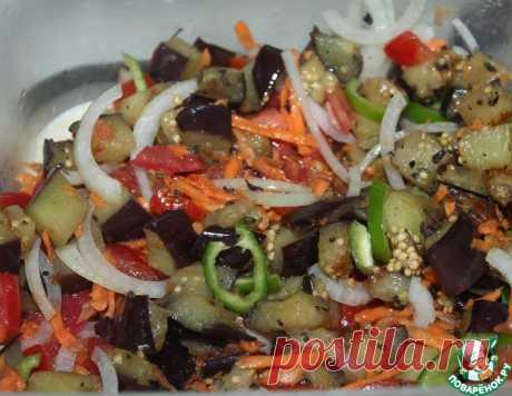 """Овощной салат """"Быстрый"""" – кулинарный рецепт"""