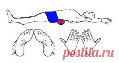 Упражнения с валиком для тех, у кого болит спина Дача и огород