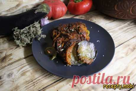 Овощной рататуй - классическая французская закуска для вкусного ужина