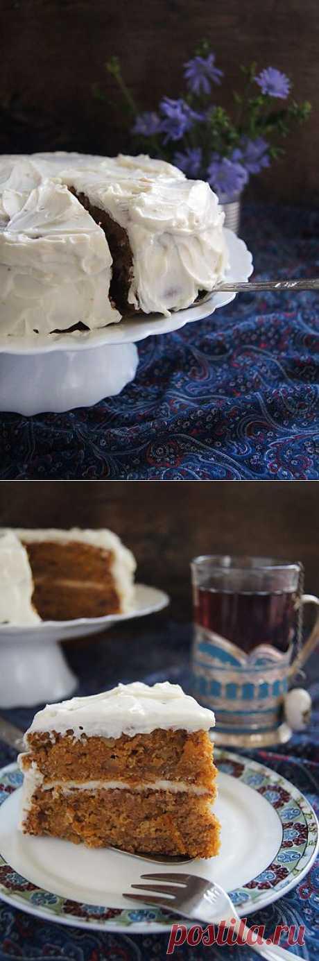 Заметки на кухонных занавесках - Морковный пирог