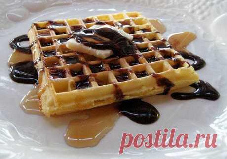 Вафли на утро: рецепты, фото