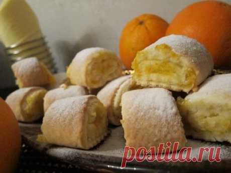 Печенье Апельсиновая нежность - Печенье