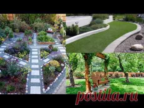 Идеи садового декора. Обустройство двора