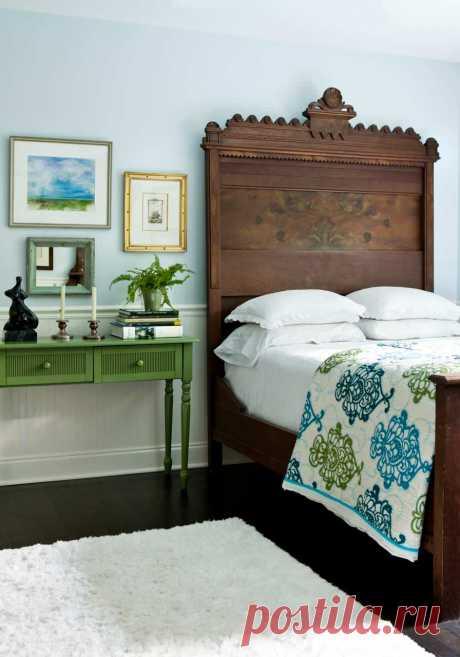 Stern Turner Home - Фьюжн - Спальня - Атланта - от эксперта Erica George Dines Photography | Houzz Россия