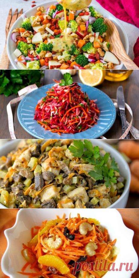 15 интересных салатов из моркови - Лайфхакер