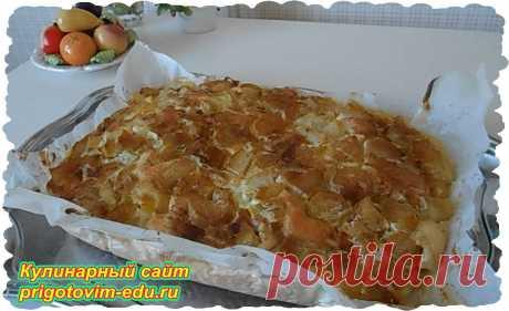 Пирог с ревенем из теста на кефире | Простые пошаговые фото рецепты | Яндекс Дзен