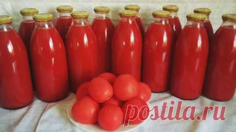 Теперь томатный сок делаю только так, без соковыжималки и хлопот — ✔️ Копилка моих идей!
