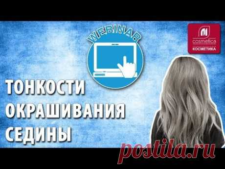 Subtleties and not cunning rules of coloring of a gray hair. A webinar with the expert Irina Gavrilova. Gray hair